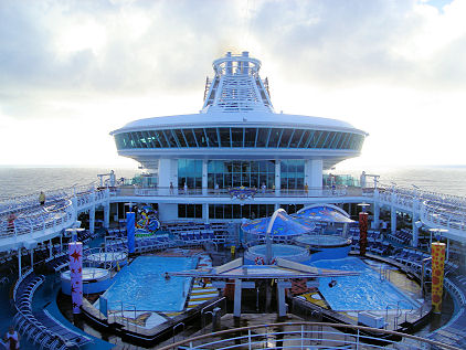 pools on the ship