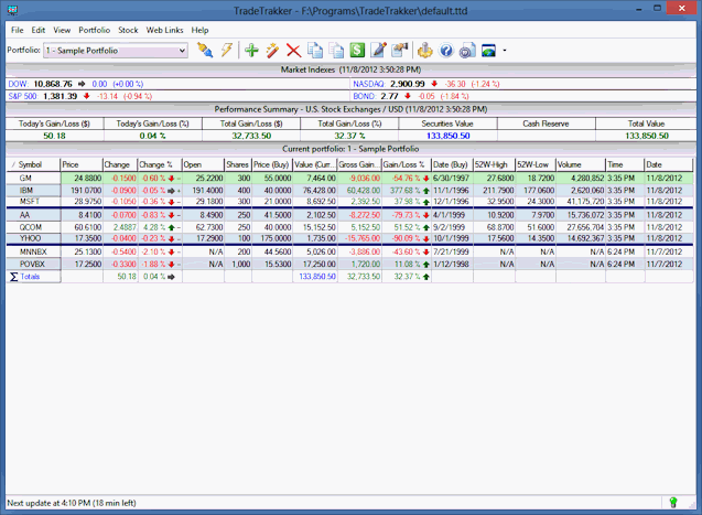 tradetrakker software for managing your trades