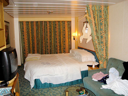 room on the ship